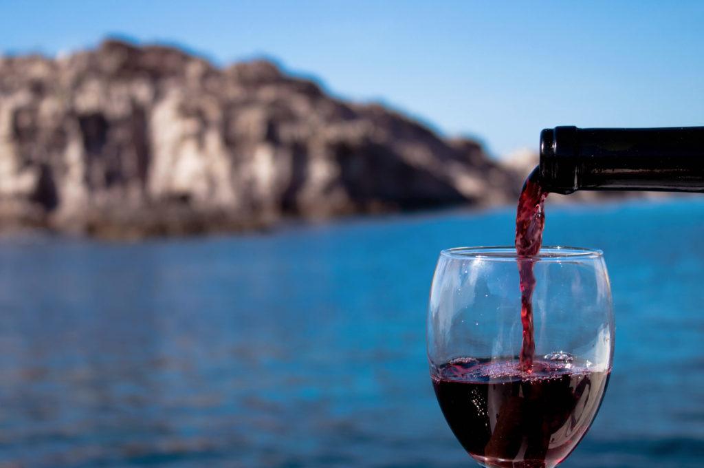 degustazione di vini sul mare